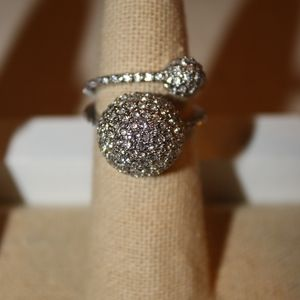 Soiree' Double Band Ring